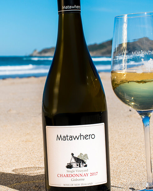 Matawhero Chardonnay Gisborne beach
